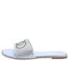 Sarah207 Silver Women's Sandal - Wholesale Fashion Shoes