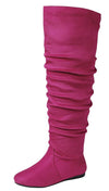 Selena33k Fuchsia Kids Boot - Wholesale Fashion Shoes