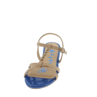 Sherry2 Royal Studded T-strap Kids Sandal - Wholesale Fashion Shoes