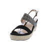 Stacey300lw Black Women's Wedge - Wholesale Fashion Shoes