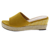Stacey302lw Yellow Women's Wedge - Wholesale Fashion Shoes