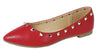 Stella12 Red Women's Flat - Wholesale Fashion Shoes