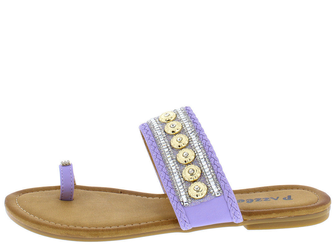 061c7a743 Sabrina60 Lavender Fashion Beaded Boho Women s Sandals Only  10.88 -  Wholesale Fashion Shoes