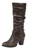 Safety52 Brown Women's Boot - Wholesale Fashion Shoes