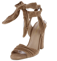 SAIGON TAUPE WOMEN'S HEEL - Wholesale Fashion Shoes