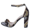 Sandra01 Snake Women's Heel - Wholesale Fashion Shoes