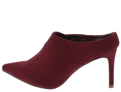 Sandy1 Wine Women's Heel - Wholesale Fashion Shoes