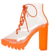 Sealteam06 Orange Women's Boot - Wholesale Fashion Shoes