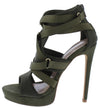 Seduce Olive Women's Heel - Wholesale Fashion Shoes