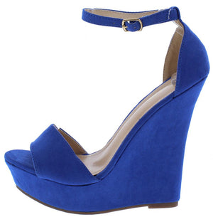 c32578104 Selia2 Blue Women s Wedge - Wholesale Fashion Shoes