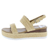 Sensational41 Beige Women's Sandal - Wholesale Fashion Shoes