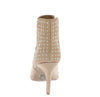 Shayla04axx Warm Taupe Suede Pu Women's Boot - Wholesale Fashion Shoes
