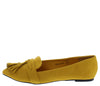 Shilla04 Mustard Women's Flat - Wholesale Fashion Shoes