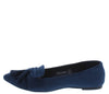 Shilla04 Navy Women's Flat - Wholesale Fashion Shoes