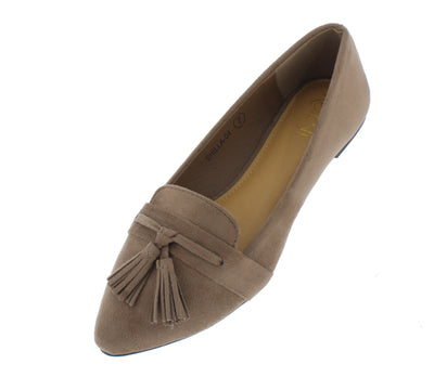 Shilla04 Stone Women's Flat - Wholesale Fashion Shoes