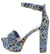 Shocking23 Denim Multi Women's Heel