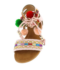 SIMPSON1K BLUSH KIDS SANDAL - Wholesale Fashion Shoes