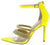 Sirena Yellow Women's Heel