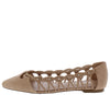 Soljah Taupe Women's Flat - Wholesale Fashion Shoes