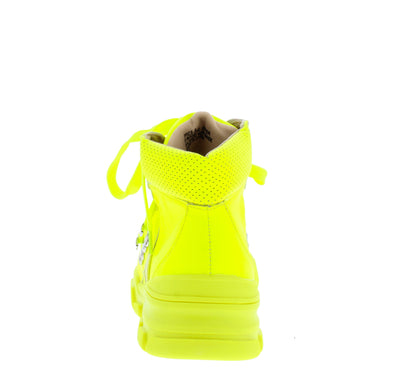 Melinda234 Neon Yellow Women's Boot - Wholesale Fashion Shoes