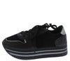 Sponge01 Black Women's Flat - Wholesale Fashion Shoes