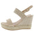 Stacey300w Beige Women's Wedge