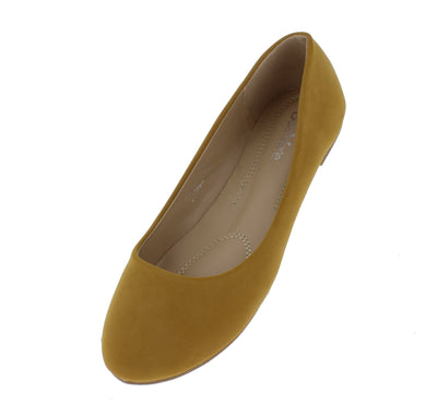 Stacy101 Camel Women's Flat - Wholesale Fashion Shoes