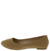 Stacy101 Light Brown Women's Flat - Wholesale Fashion Shoes