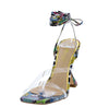 Starr1 Yellow Snake Women's Heel - Wholesale Fashion Shoes