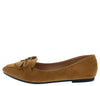 Stella01 Tan Women's Flat - Wholesale Fashion Shoes