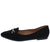 Stella02 Black Women's Flat