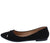 Stella03 Black Women's Flat