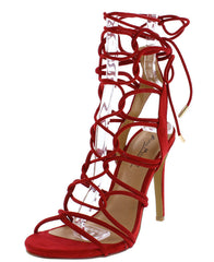 SUGARLOVE69M RED WOMEN'S HEEL - Wholesale Fashion Shoes