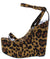 Sunlight Leopard Women's Wedge