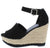 Sunshine01 Black Women's Wedge