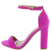 Sweetlove01 Hot Pink Women's Heel - Wholesale Fashion Shoes