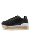 Tampa01 Black Pu Women's Flat - Wholesale Fashion Shoes