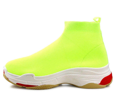 Tidal Neon Yellow Women's Boot - Wholesale Fashion Shoes