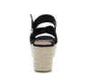 Tradition09 Black Suede Women's Heel - Wholesale Fashion Shoes