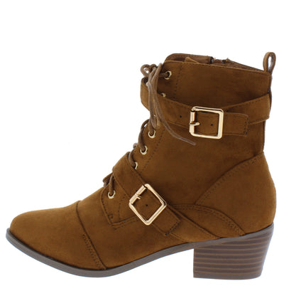 Taryn2 Tan Women's Boot - Wholesale Fashion Shoes