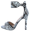 Test91 Snake Women's Heel - Wholesale Fashion Shoes