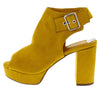 Thea1 Mustard Women's Heel - Wholesale Fashion Shoes