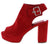 Thea1 Red Women's Heel
