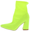 Tiehd Up Lime Women's Boot - Wholesale Fashion Shoes