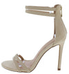 Logan030 Nude Women's Heel - Wholesale Fashion Shoes