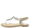 Tray3101 Light Gold Women's Sandal - Wholesale Fashion Shoes
