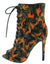 Janet111 Orange Camouflage Women's Boot