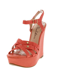 TROY8 CORAL WEDGE - Wholesale Fashion Shoes
