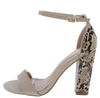 Turan Nude Women's Heel - Wholesale Fashion Shoes