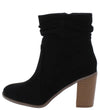 Cecilia030 Black Women's Boot - Wholesale Fashion Shoes